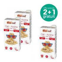 EcoMil - Offre Boisson avoine nature Bio 1L BIO 2 +1 offert