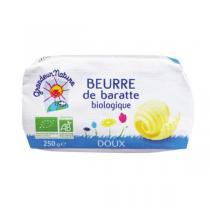 Grandeur Nature - Beurre de baratte moulé doux 250g