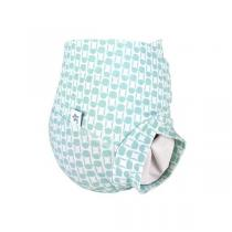 Hamac - Couche lavable - bulles Romarin - Taille S