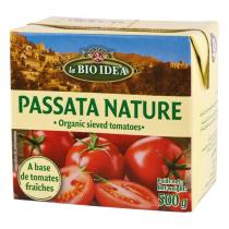 La Bio Idea - Passata nature Purée de tomates brique tetra 500g