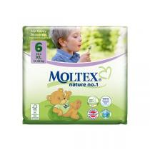 Moltex - 22 Couches Eco-XL T6, 16-30 kg