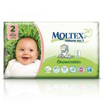 Moltex - Lot 8 x 42 Couches Eco-Mini T2, 3-6 kg