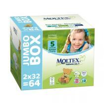 Moltex - Lot 8 x 64 Couches T5 Eco-junior 11-25kg - Jumbo Box