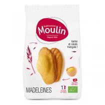 Moulin - Madeleines nature bio x 8 - 225 g