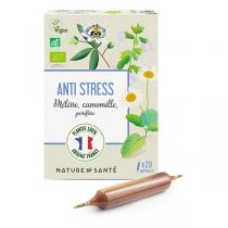 Nature & Santé - Ampoules Anti stress Bio 20x10ml