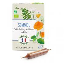 Nature & Santé - Ampoules Sommeil Bio 20x10ml