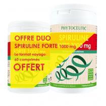 Phytoceutic - Spiruline Forte 1000mg x100 Comprimés +boîte 60 comprimés OFFERT