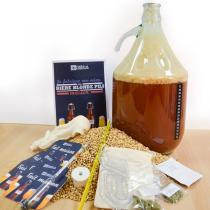 Radis et Capucine - Coffret Brassage bière blonde maison - tout grain Bio 5L