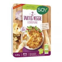 Soy - Tarte veggie lorraine 2x90g