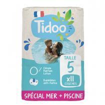 Tidoo - 11 Culottes de Bain T5 12-18kg Hypoallergéniques
