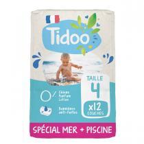 Tidoo - 12 Culottes de Bain T4 8-15kg Hypoallergéniques
