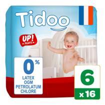 Tidoo - 16 Culottes d'apprentissage T6 16-30kg Nature