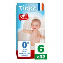 Tidoo - Pack 3x32 Culottes d'apprentissage T6 16-30kg Nature