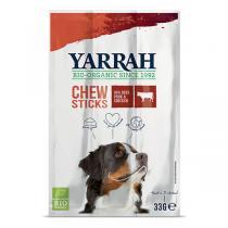 Yarrah - Lot de 3 x Bâtonnets à mâcher chien Boeuf 33g
