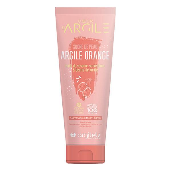 Argiletz - Nectar exfoliant corps Argile orange 200ml