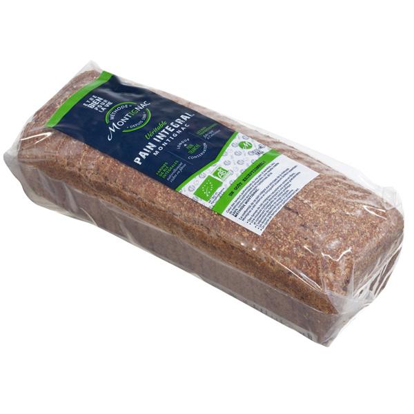 Montignac - Pain Intégral Montignac moulé et tranché 1kg