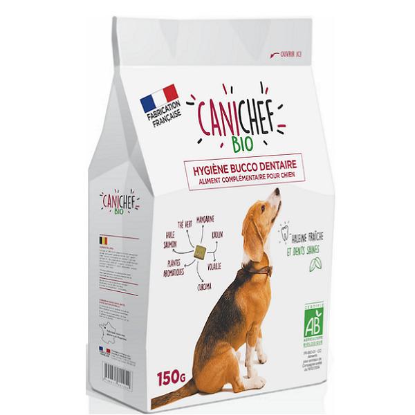 Canichef - Lot de 2 x Friandises bio Hygiène bucco dentaire chien 150g