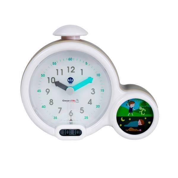 Claessens'Kid - Réveil et veilleuse Kid'Sleep Clock gris