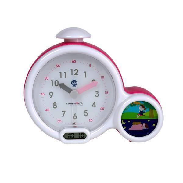 Claessens'Kid - Réveil et veilleuse Kid'Sleep Clock rose