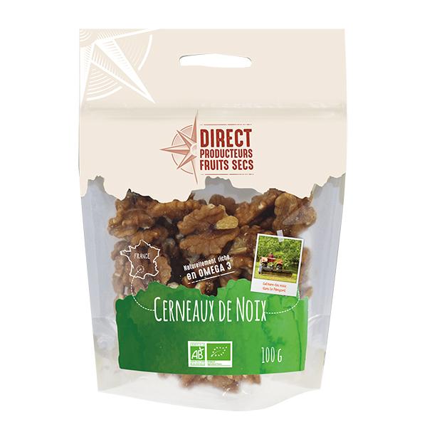 Direct producteurs Fruits secs - Cerneaux de noix du Périgord - Bio - 100 g