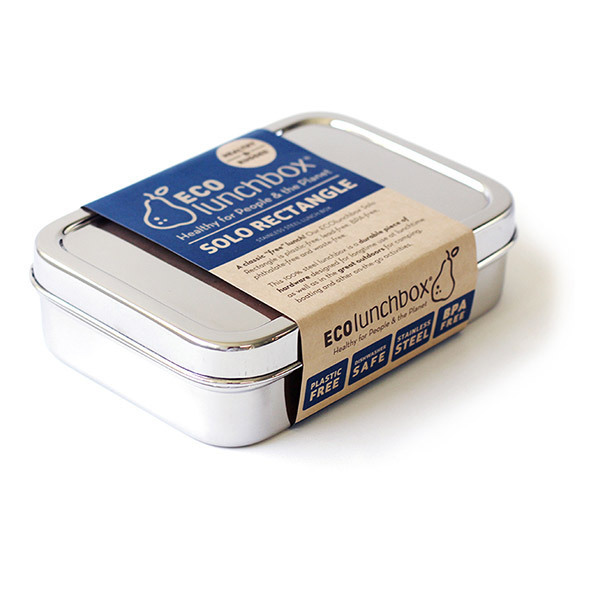 ECOlunchbox - Lunch box rectangulaire Solo Rectangle 82cl