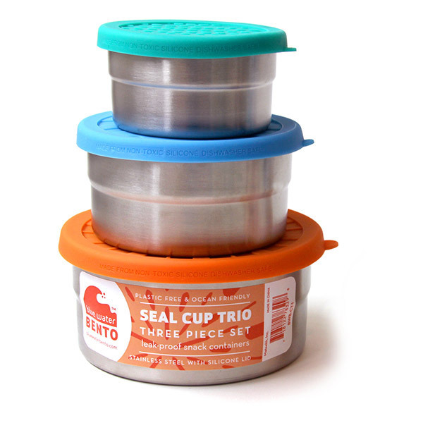 ECOlunchbox - Set de 3 lunch box rondes Seal Cup Trio 1,1L