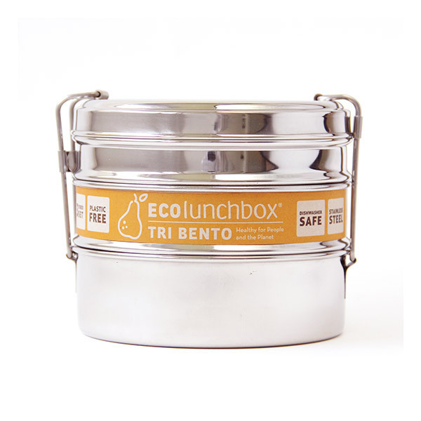 ECOlunchbox - Set de 3 lunch box rondes Tri Bento 1,1L