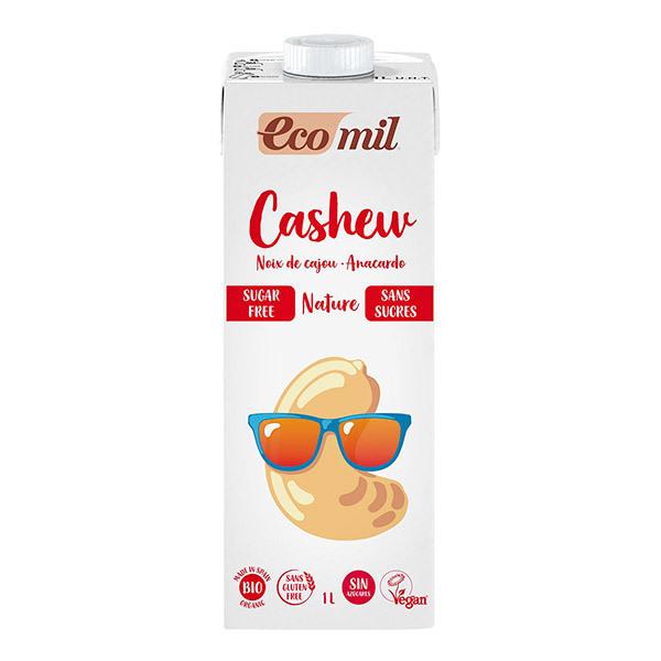 EcoMil - Boisson noix de cajou sans sucres Bio 1L