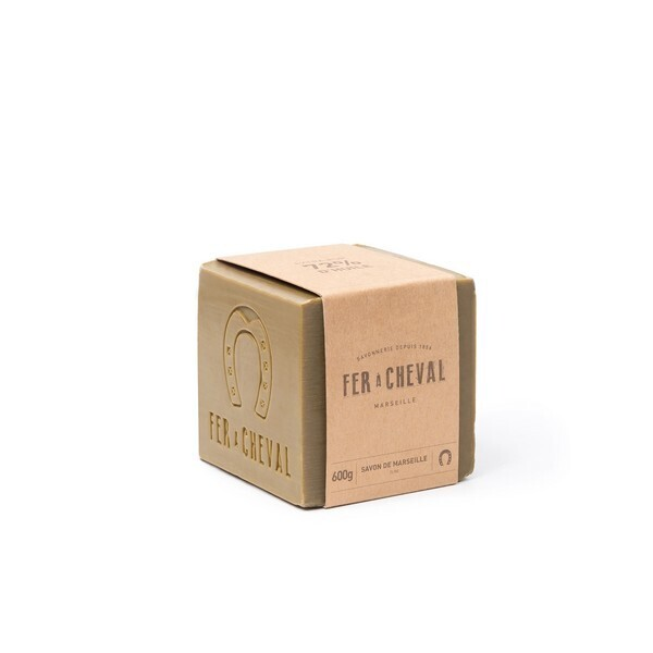 Fer à Cheval - Savon de Marseille Cube huile Olive 600g