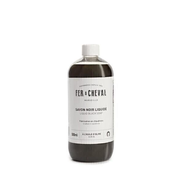 Fer à Cheval - Savon noir liquide huile Olive 500ml
