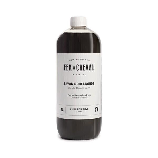 Fer à Cheval - Savon noir liquide huile Olive 1L