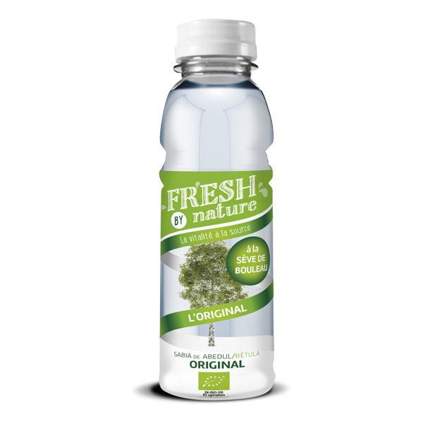 Fresh By Nature - Lot de 10 x Boisson Sève de bouleau Nature- 10 x 33cL