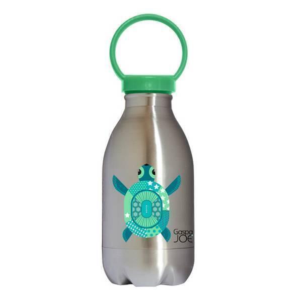 Gaspajoe - Gourde enfant Loopy Inox Tortue 450 ml