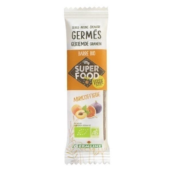 Germ'line - Barre de Céréales Germées Bio Abricot Figues 33g