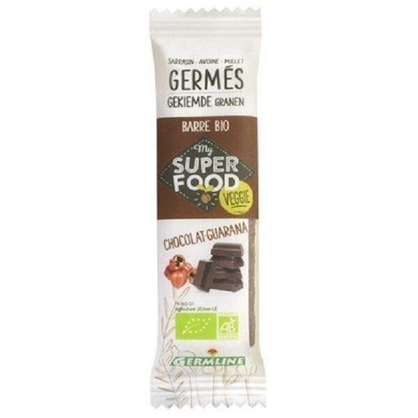 Germ'line - Barre de Céréales Germées Guarana Chocolat 31g