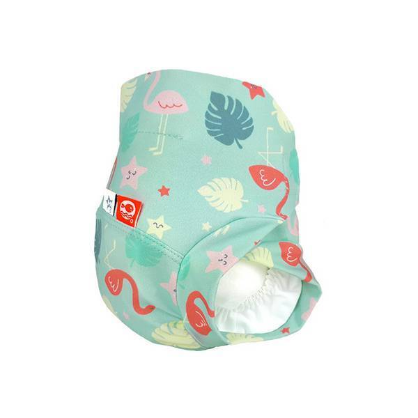 Hamac - Maillot couche Hamac by Mr Wonderful - Pink Flamingo - T 12-24 m