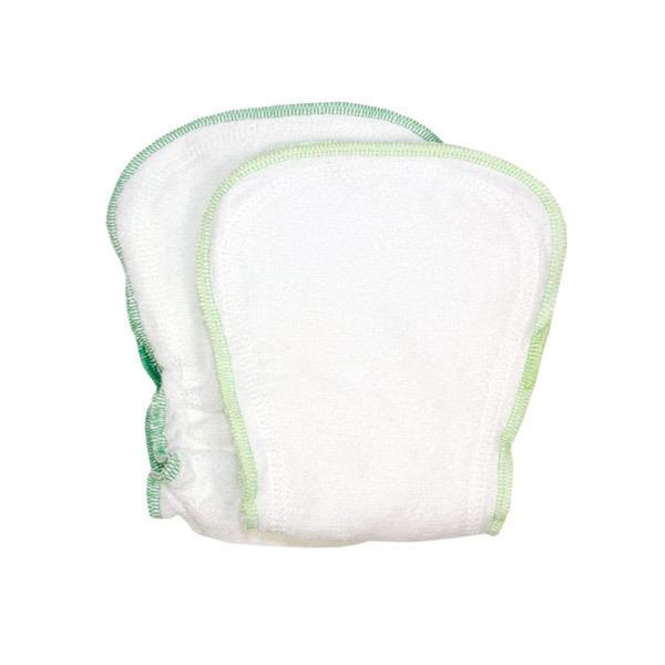 ImseVimse - Lot inserts lavables coton bio pour couche ajustable 4-16kg