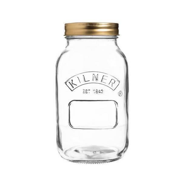 Kilner - Bocal en verre à vis 1L