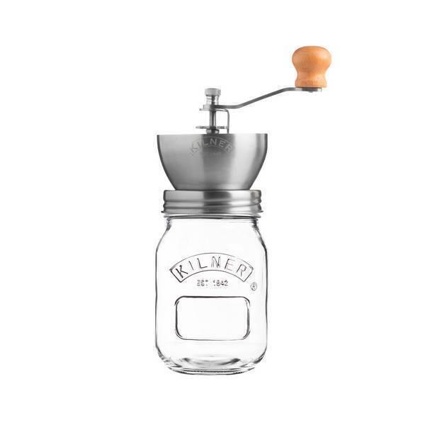 Kilner - Moulin à café manuel et récipient 0,5L