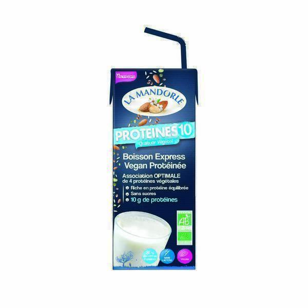 La Mandorle - Boisson express vegan protéinée 20cl