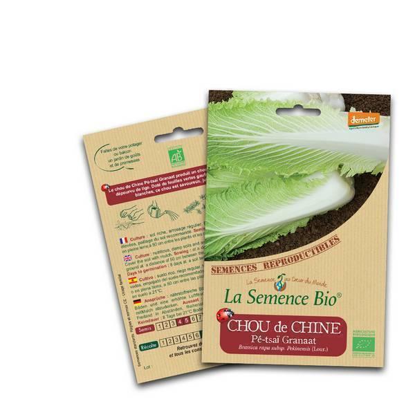 La Semence Bio - Graines de Chou chinois Pe Tsaï Granaat Bio