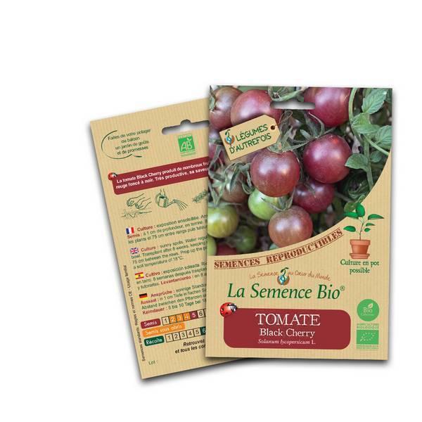 La Semence Bio - Graines de Tomate Black Cherry