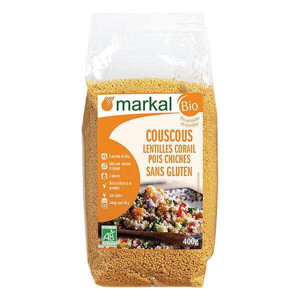 Markal - Couscous lentilles corail pois chiches 400g