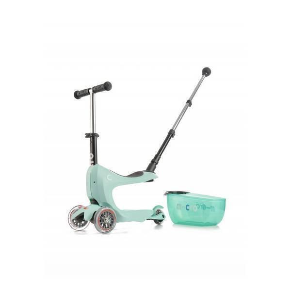 Micro - Porteur trottinette Mini 2Go Deluxe Mint de 1 à 5 ans