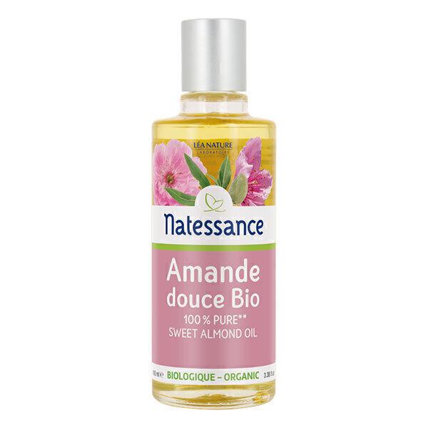 Natessance - Huile d'amande douce pure bio 100ml