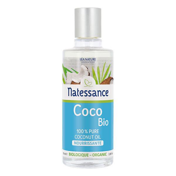 Natessance - Huile de coco pure bio Nourrissante 100ml