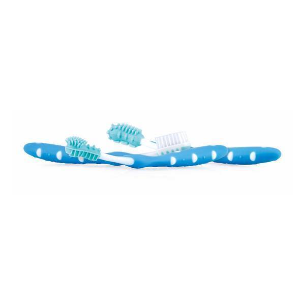 Nuby - Set évolutif brosse à dents bleu