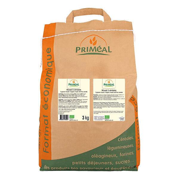 Priméal - Müesli 5 céreales 3kg