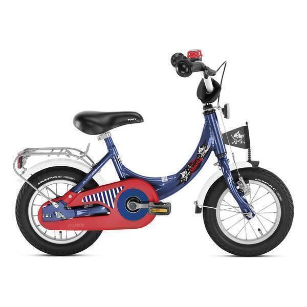 """Puky - Vélo Enfant ZL 12"""" Alu Bleu Captain Sharky - Dès 3 ans"""