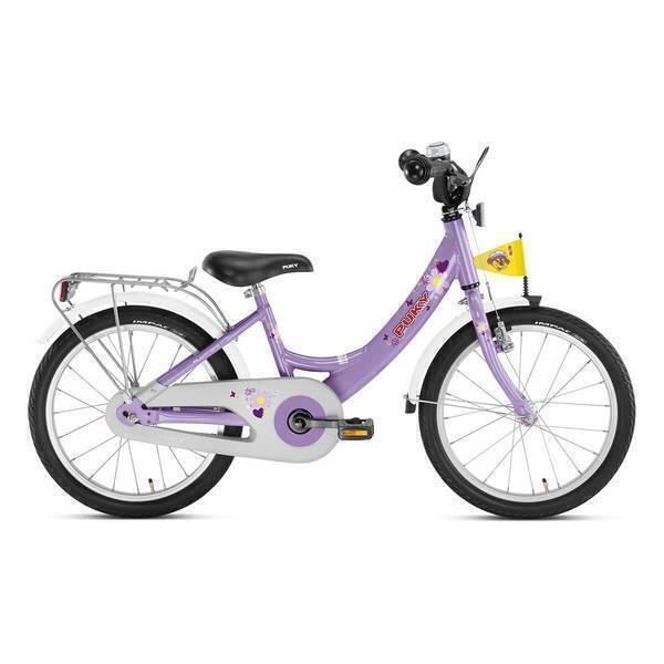 """Puky - Vélo Enfant ZL 18"""" Alu Lilas - Dès 5 ans"""